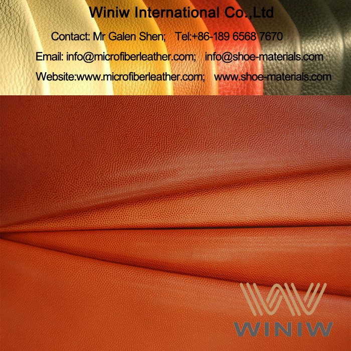 PU Basketball Leather Material