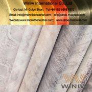 Microfiber Leather for Shoulder Bags Making