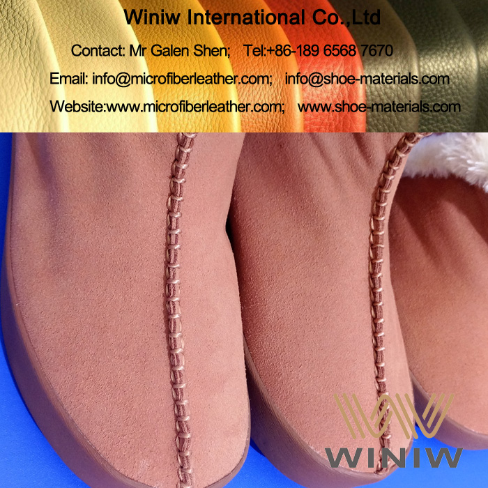 Faux Suede Leather Fabric for Boots