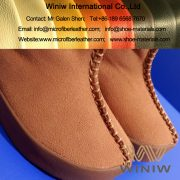Microfiber Suede Leather for Snow Boots