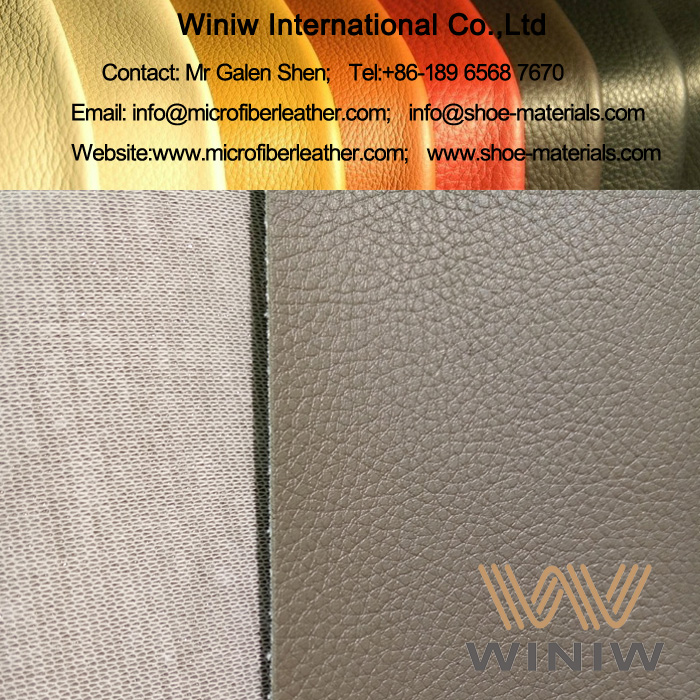 Lichee Microfiber Leather