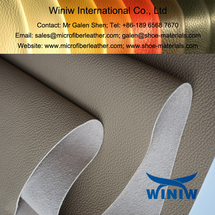 Vinyl Upholstery Leather Fabric