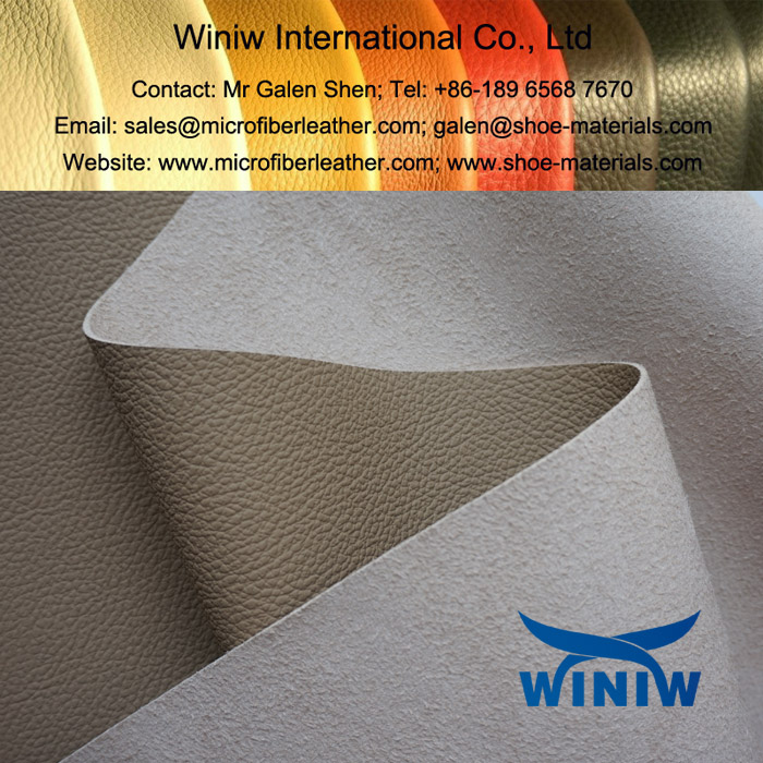 Vinyl Upholstery Leather Fabric for Automotive