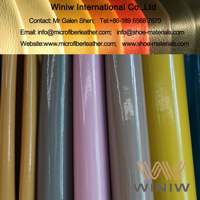 Microfiber Patent Leather 001
