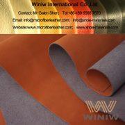Microfiber Nubuck Leather