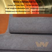 Microfiber Nubuck Leather