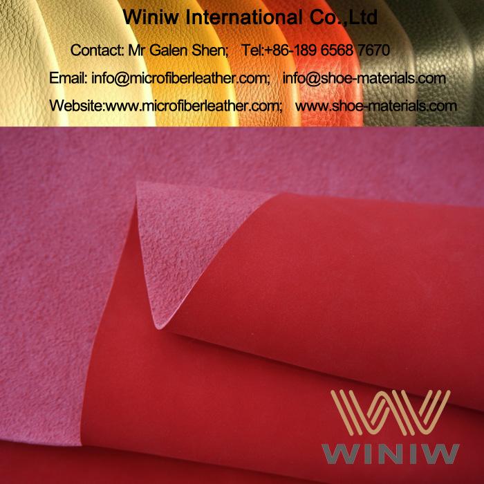 Microfiber Synthetic Nubuck Leather