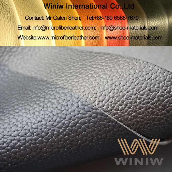Embossed Microfiber Leather for Footwear