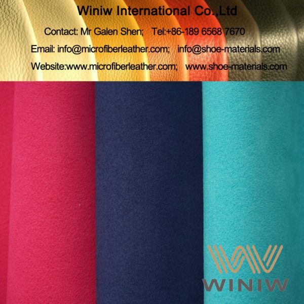 Microfiber Synthetic Suede Leather