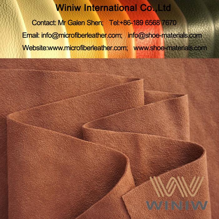 PU Suede Fabric Material