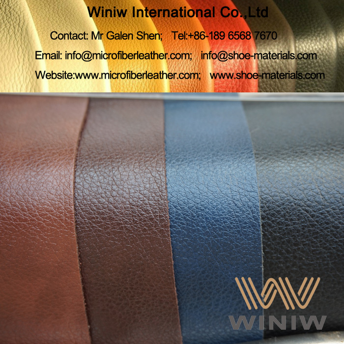 Microfiber Leather Substitute for Shoes Upper