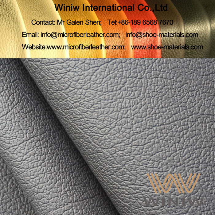 PU Microfiber Synthetic Leather for Automotive Seats