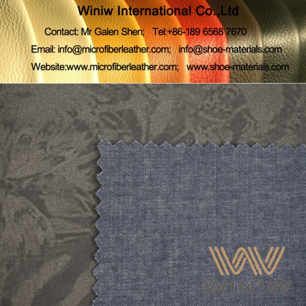 tretch Faux Leather Fabric for Apparel