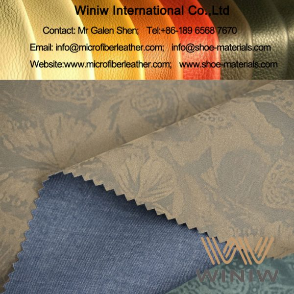 tretch Faux Leather Fabric for Apparel & Clothing