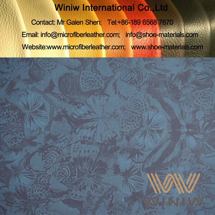 Stretch Faux Leather Fabric for Clothing