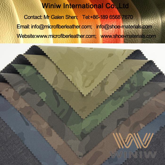 Fashion Printed PU Leather Fabric