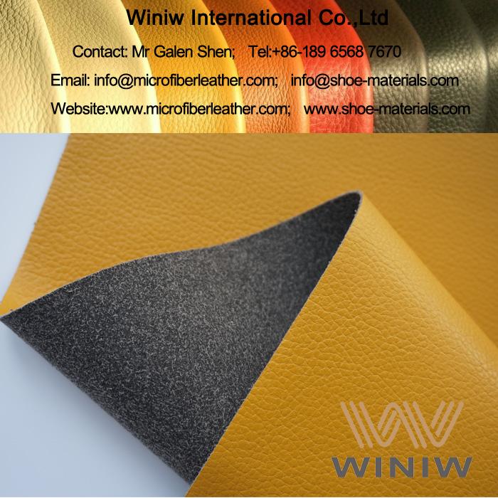 Full Grain Cow Microfiber Leather