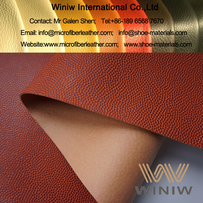 PU Leather for Basketball 001