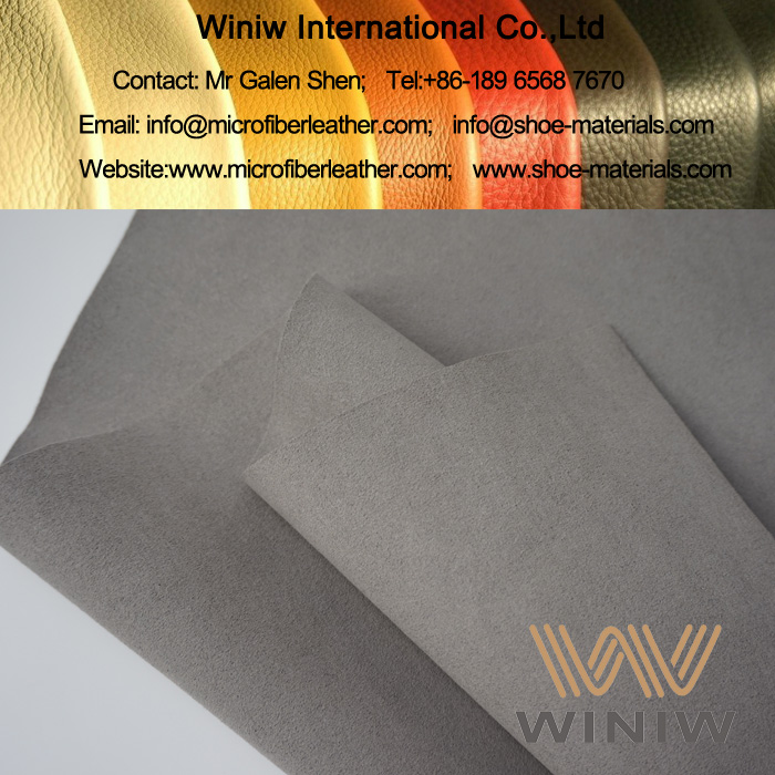 Faux Suede Leather for Insole Lining