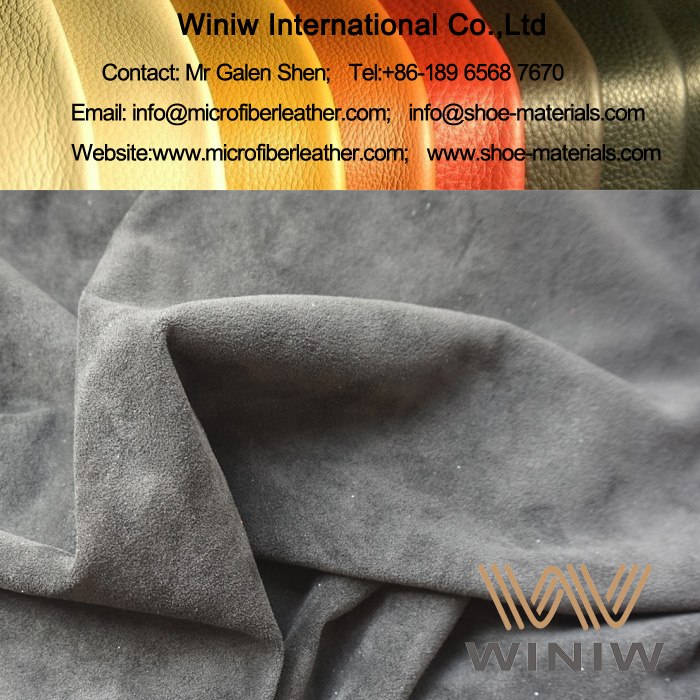 Faux Suede Leather Fabric for Clothing supplier
