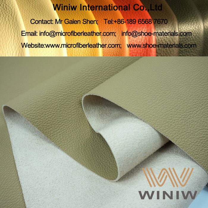Faux Leather Fabric Material for Car