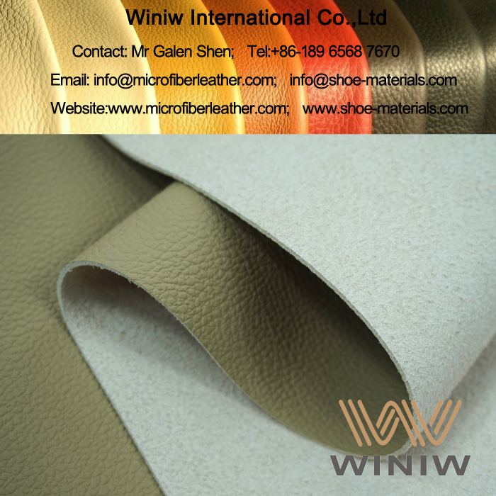 Faux Leather Fabric Material