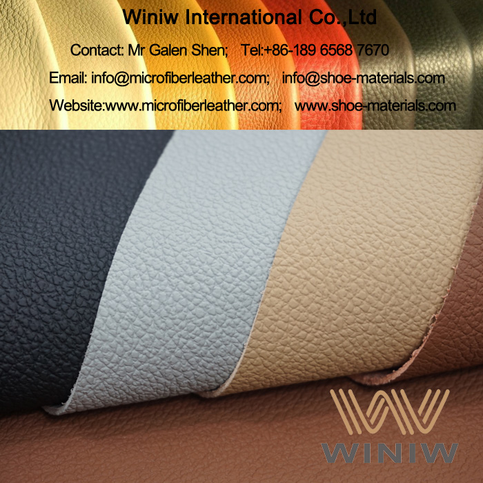 PU Microfiber Synthetic Leather for Automotive