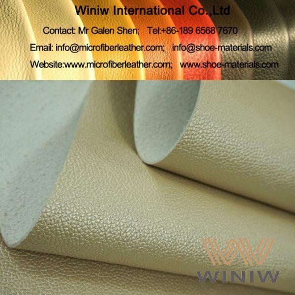 PU Microfiber Leather for Sofa and Furniture