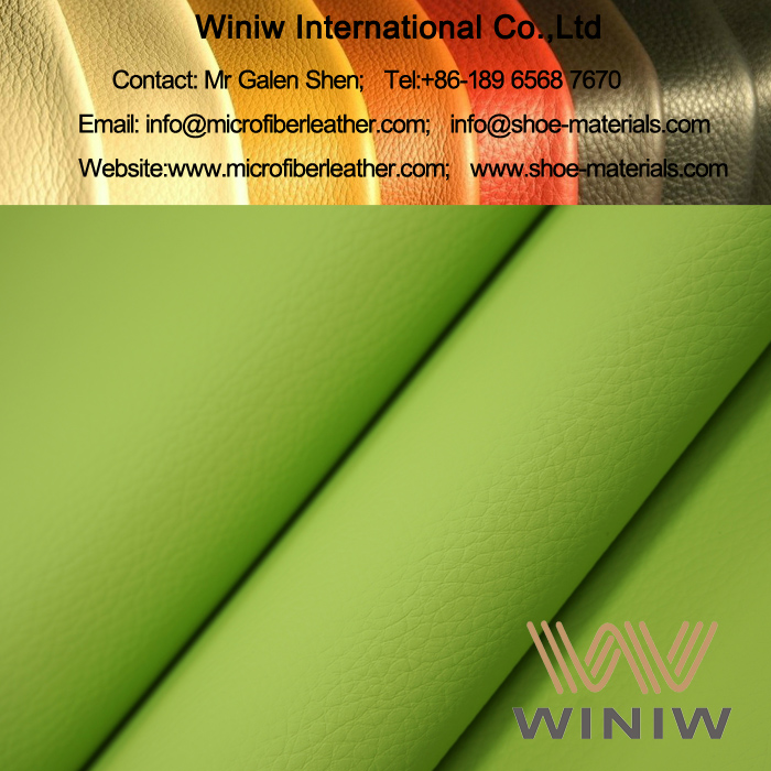 Microfiber Leather Upholstery Fabric for Sofa