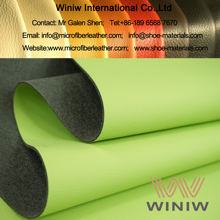 Microfiber Leather Upholstery Fabric for Furniture
