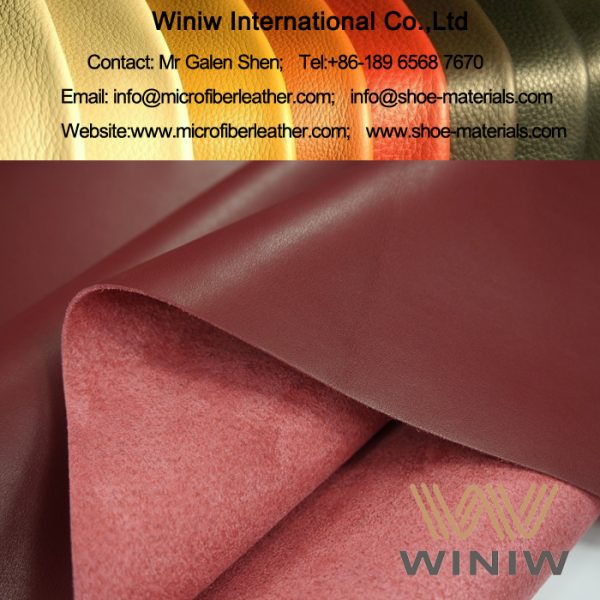 Full Grain Microfiber Synthetic Leather