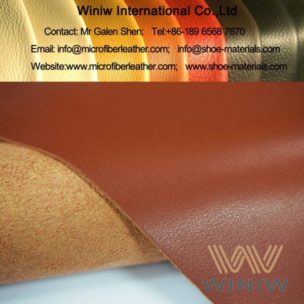 Microfiber Artificial Leather Imitation Animal Skin