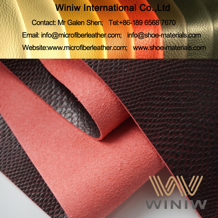Microfiber Leather for High Quality Shoes