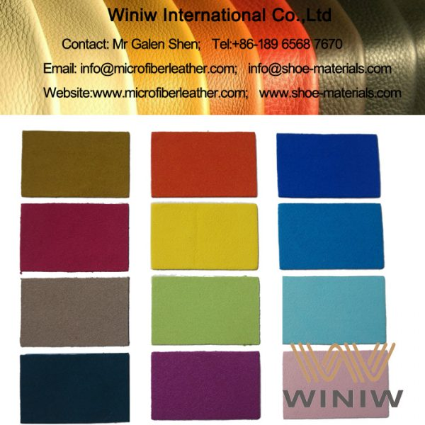 Microfiber Synthetic Suede Leather for Cord
