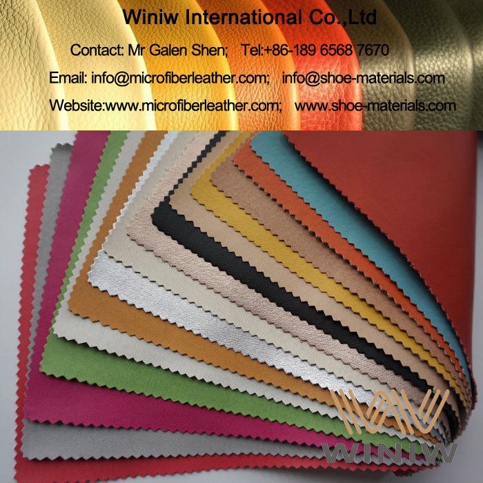 Microfiber Synthetic Pigskin Leather