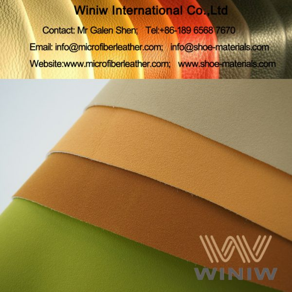 Microfiber Synthetic Suede Leather for Shoe Lining