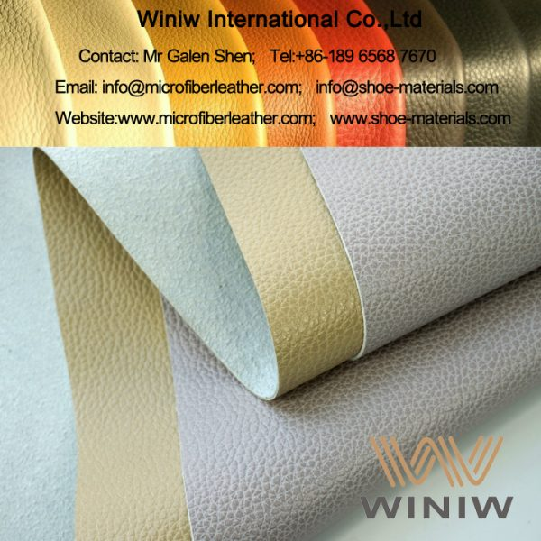 Faux Leather Material for Furniture and Sofa Upholstery