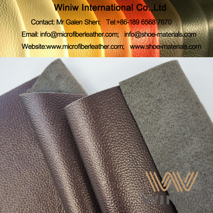 Retro Faux Leather Upholstery Fabric