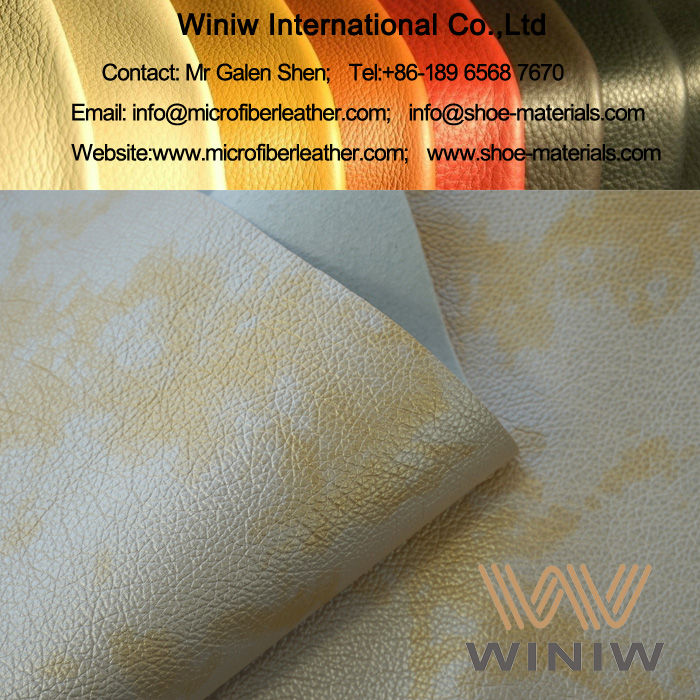 Upholstery Leather Fabric for Sofa