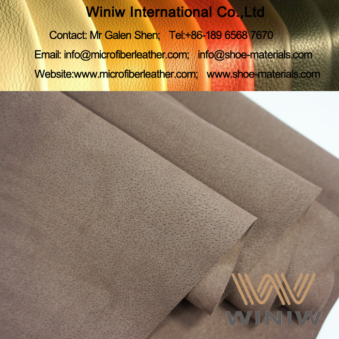 Microfiber Synthetic Suede Leather for Shoes