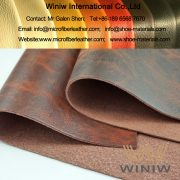 PU Microfiber Leather Upholstery Fabric for Furniture