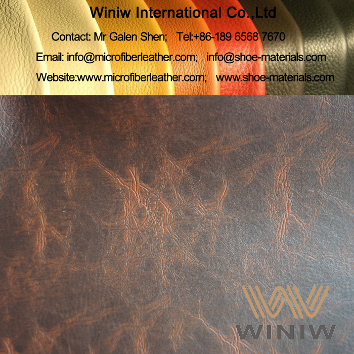 Leather Upholstery Fabric for Antique Sofa Furniture