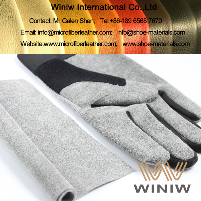 Suede Microfiber Leather for Gloves