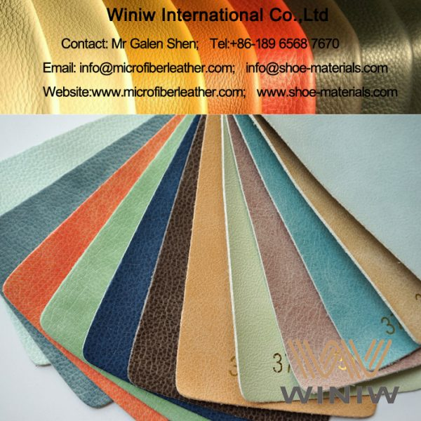 Microfiber PU Leather for Sofa