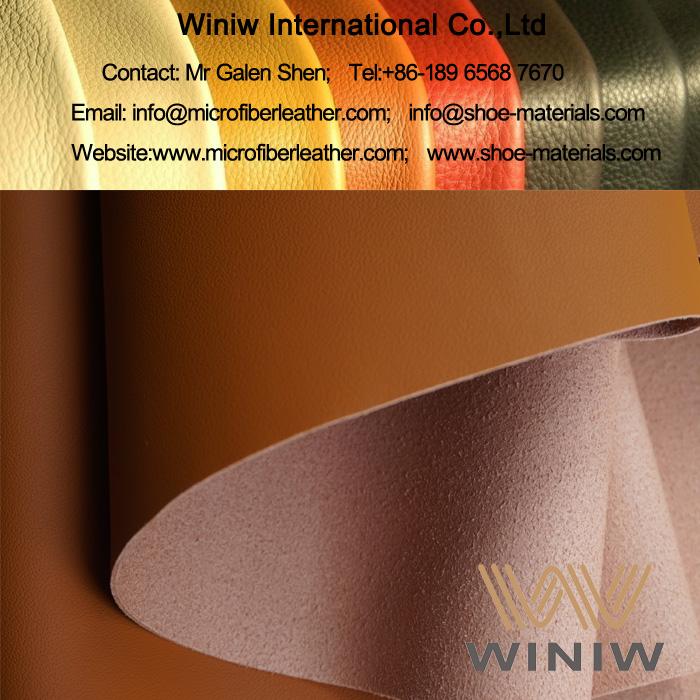 Microfiber PU Nappa Leather