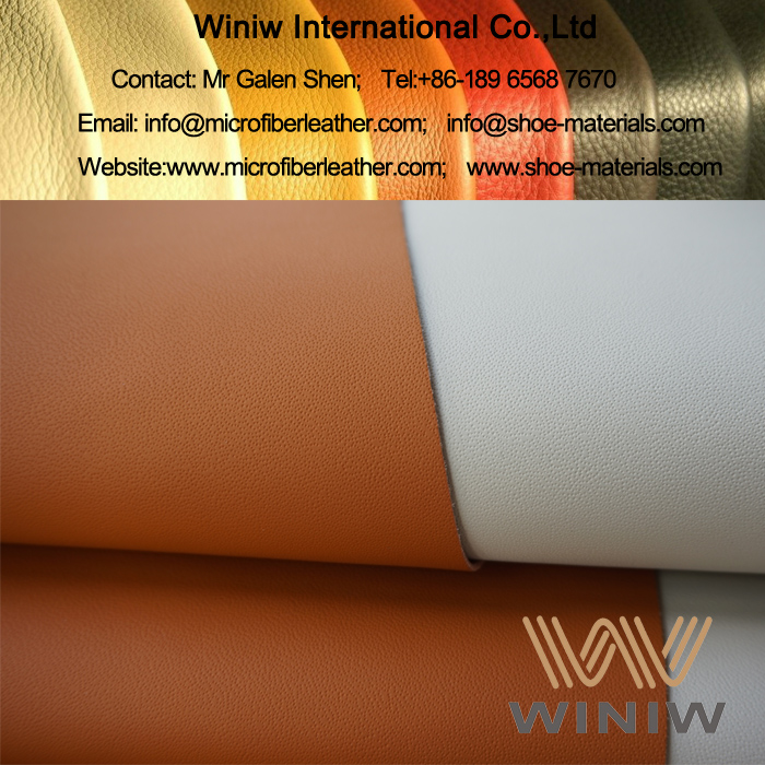 Nappa Leather Fabric Material for Cars
