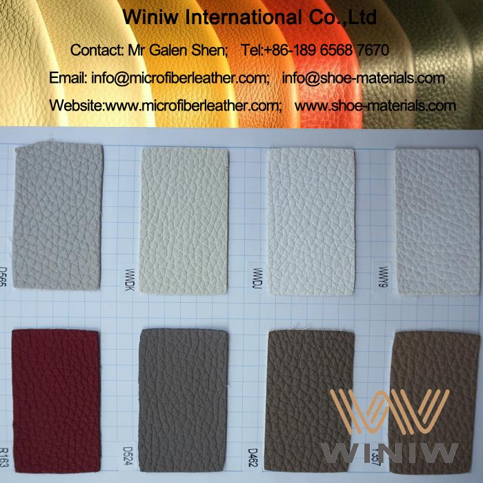 Embossed Microfiber Leather