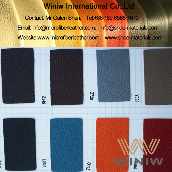 Embossed Microfiber Leather for Sofa