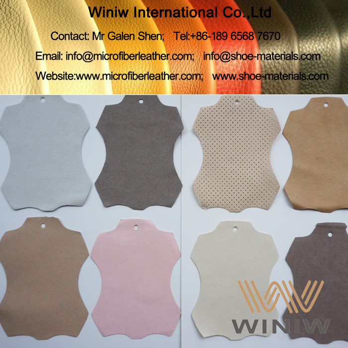 High Quality Microfiber Suede Leather