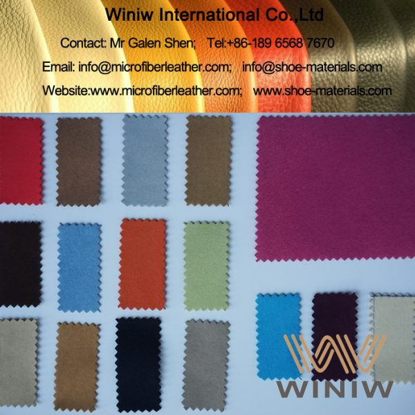 Faux Suede Leather Fabric